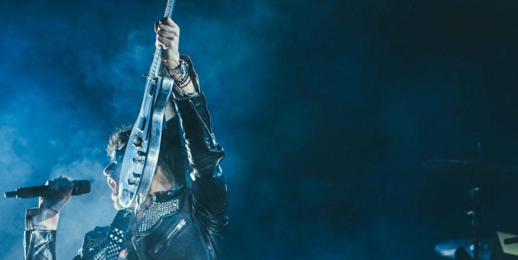Blue Trans Guitar   Kycker Article