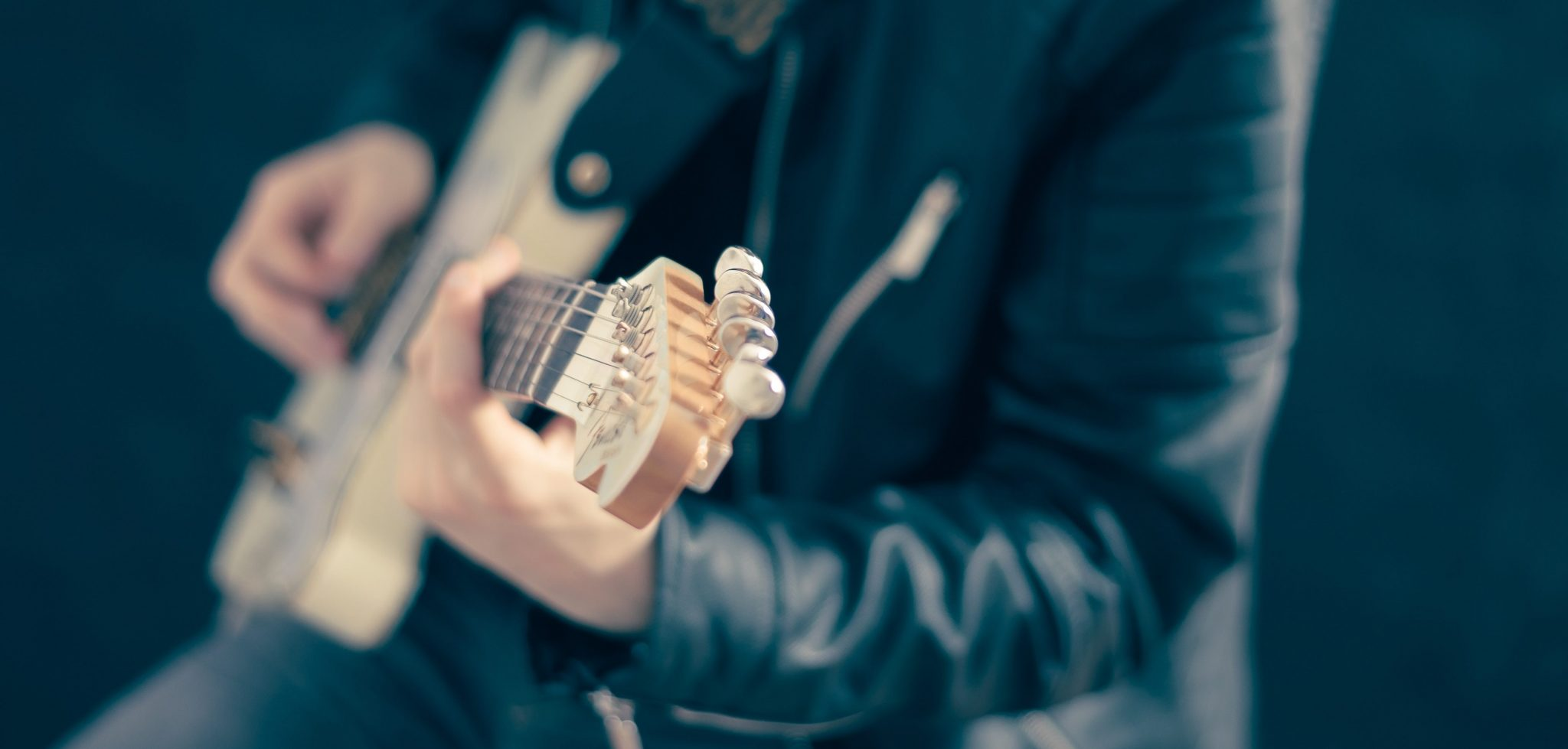 Leather Jacket Guitar 2 | Kycker Article