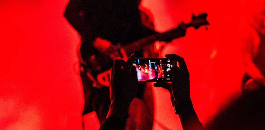 Red Lit Bassist   Kycker Article