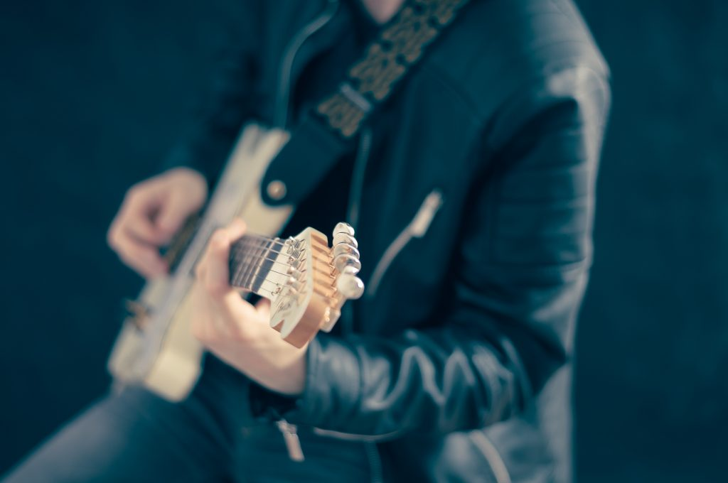 Leather Jacket Guitar | Kycker Article